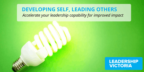 2020 Developing Self, Leading Others Series 1 tickets