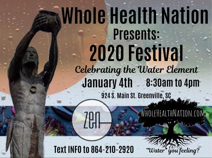 Events Sc 2020.Whole Health Nation 2020 Festival Tickets Sat Jan 4 2020