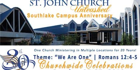 SJC 20th Southlake Campus Anniversary tickets