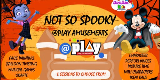 Not So Spooky @ Play Amusements