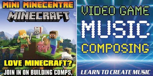 Mini MineCentre + Video Game Music Composing