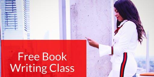 Free Book Writing & Publishing Class
