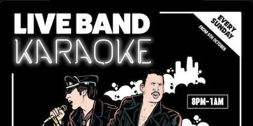 Live Band Karaoke @ Blue Moon Karaoke Bar