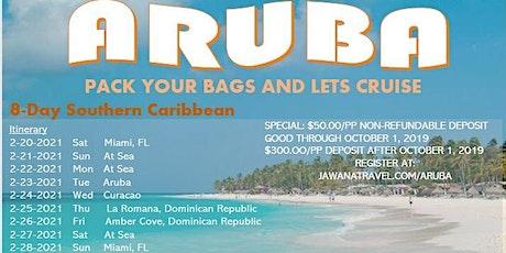 Cruisin to Aruba 2021 tickets