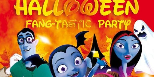 Halloween Fang-Tastic Party!