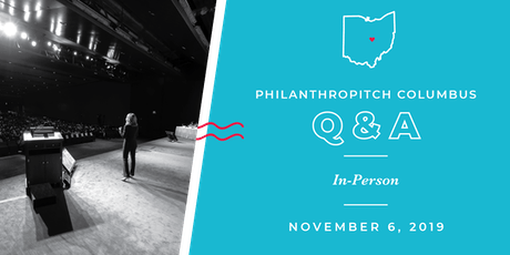 Philanthropitch Columbus 2020 Application Live Q&A tickets