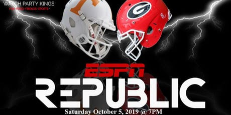 The Official UGA vs Tennessee Watch Party @ Republic tickets