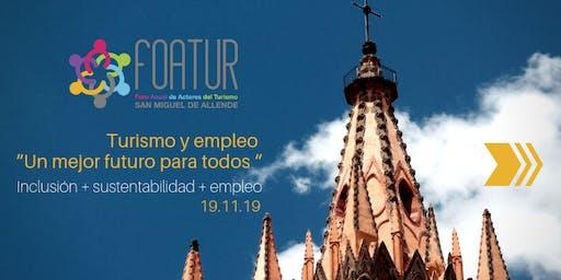 Foroa Anual de Actores del Turismo 2019