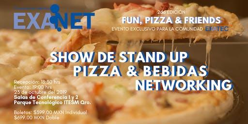 EXANET Segunda Edición: Fun, Pizza & Friends
