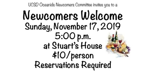 Newcomers' Welcome Wine Tasting Party tickets