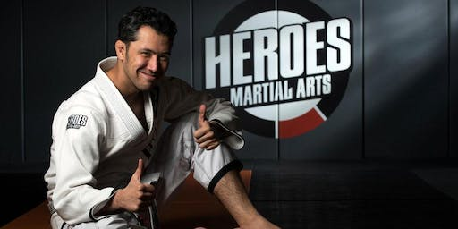 Brazilian Jiu Jitsu by Heroes Martial Arts at Backyard SJ