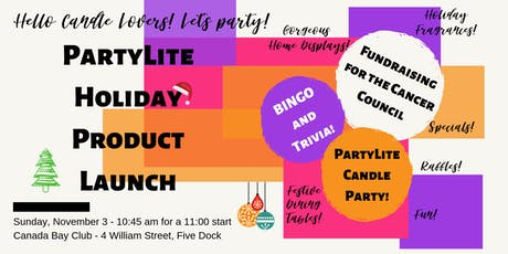 PartyLite Holiday Product Launch and Fundraiser tickets