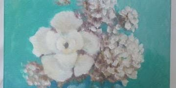 Vanilla Blooms Painting Party! (Adults only)