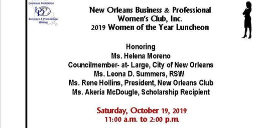 2019  Women of the Year Luncheon