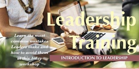 Leadership Training: Introduction To Leadership tickets