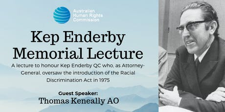 5th Annual Kep Enderby Memorial Lecture tickets