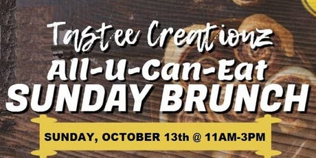 SUNDAY ALL-U-CAN-EAT BRUNCH BUFFET tickets
