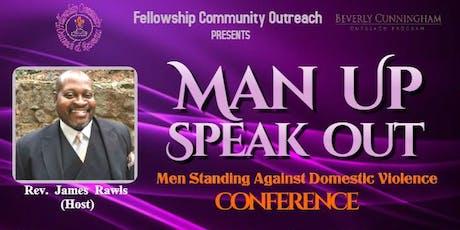 Man Up  Speak Out tickets