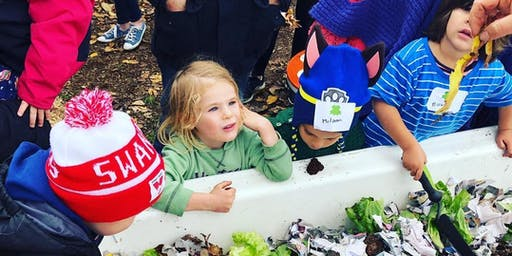 Little Sprouts Children's Week Gardening Workshop Food Is Free & Playgroup Vic 21 Oct 2019