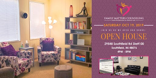 Family Matters Counseling - Open House