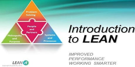 Introduction to LEAN - 1 day course - with Cube Factory simulation - Launceston Tasmania tickets
