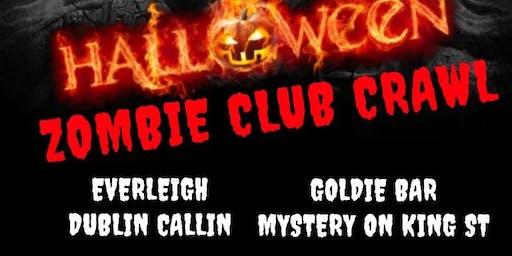 Halloween Party Crawl Toronto Friday
