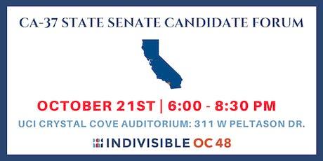 CA-37 State Senate Candidate Forum tickets