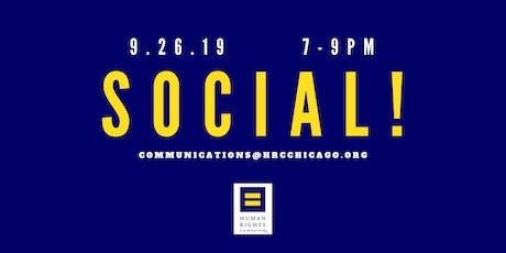HRC Social! (October) tickets