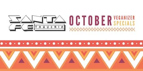 Veganizer PDX: Santa Fe Taqueria October Vegan Specials tickets