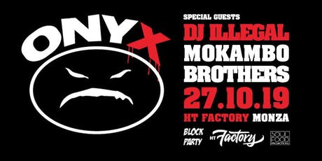 ONYX Live in Monza biglietti