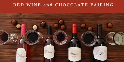 Red Wine and Chocolate Pairing!