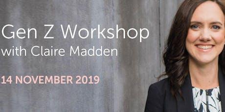Gen Z Workshop with Claire Madden tickets