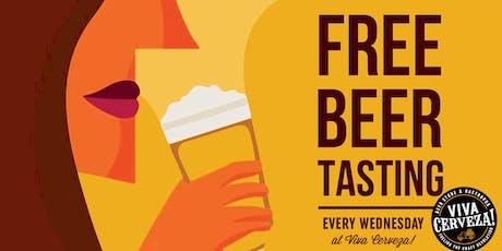 ¡Miércoles de cata en VIVA Cerveza! (Free Craft Beer Tasting) entradas