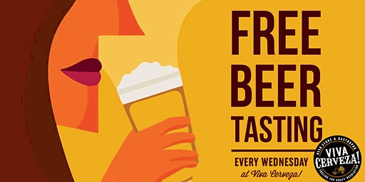 ¡Miércoles de cata en VIVA Cerveza! (Free Craft Beer Tasting)