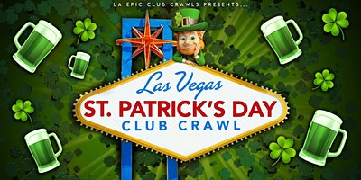 2020 St Patricks Day Las Vegas Club Crawl