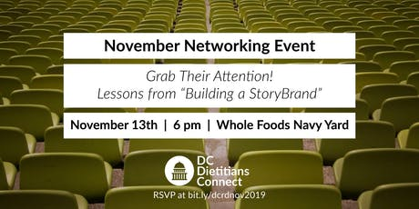 DC Dietitians Connect: November 2019 Networking Event tickets