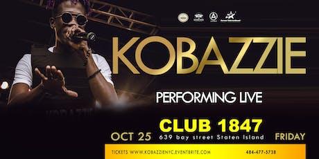 Kobazzie Live In Staten Island NEW YORK tickets