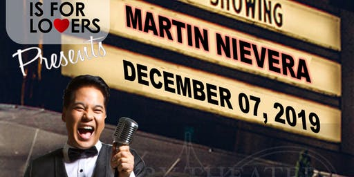Martin Nievera Live in Norfolk Virginia  Granby Theater December 7 2019 7pm