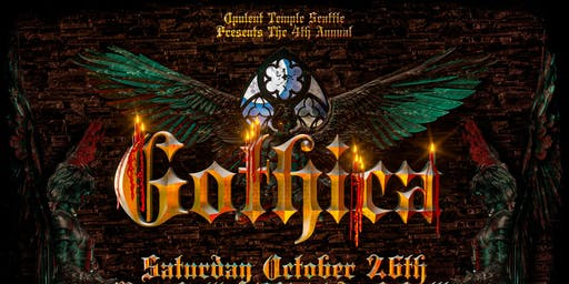 Opulent Temple Seattle's Halloween Costume Bash - Gothica