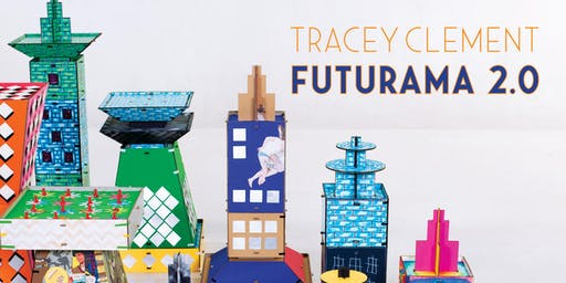 Exhibition Launch, Futurama 2.0, Tracey Clement AiR 2019