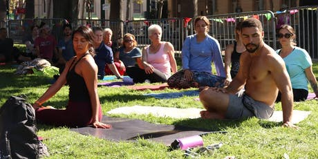 Morning All Levels Flow Yoga by Be The Change Yoga at Backyard SJ tickets