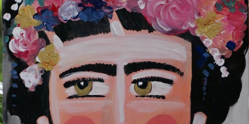 Paint'n'Pints™ Frida Class with Beer in Milton
