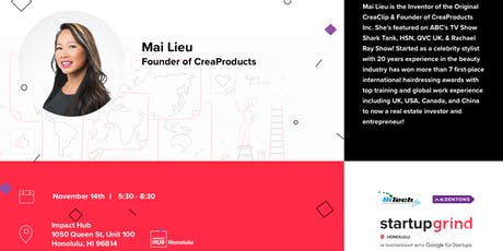 Fireside Chat with Mai Lieu (CreaProducts Inc) tickets
