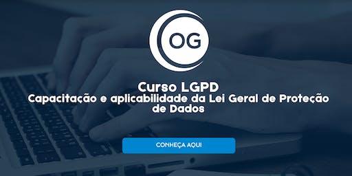 CURSO LGPD - Capacitação e aplicabilidade da Lei Geral de Proteção de Dados