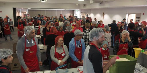 OLQA's 14th Thanksgiving Feed the Hungry Packing Party