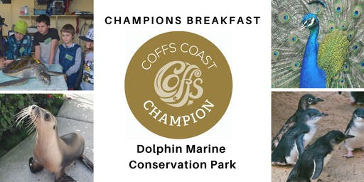 Coffs Coast Champions Breakfast - Dolphin Marine Conservation Park