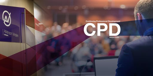 CPD TRAINING IN CHATSWOOD 22 OCTOBER 2019