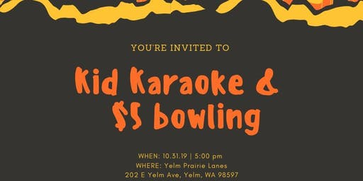 Kid Karaoke & $5 Bowling, Dance on the Lanes