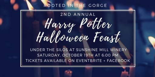 Rooted Table - 2nd Annual Harry Potter Halloween Feast