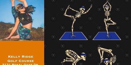 Yoga + Halloween Bash